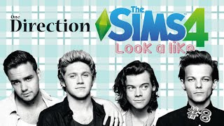 The Sims 4: Look a like ✗ One Direction