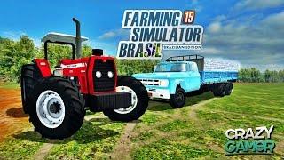 getlinkyoutube.com-Farming Simulator 2015 Multiplayer - DLC Brasileira #03 - Crazy Gamer