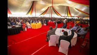 Uhuru Kenyatta's speech at State House with Governors and Jubilee MCA's
