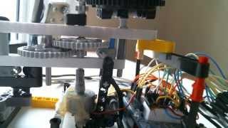 getlinkyoutube.com-Arduino Rubber band Turret!