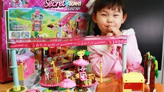 getlinkyoutube.com-시크릿쥬쥬 빙글빙글 동물원 장난감 놀이  Secret JouJu Zoo Zoo Play Set Toys Unboxing おもちゃ đồ chơi игрушка 라임튜브