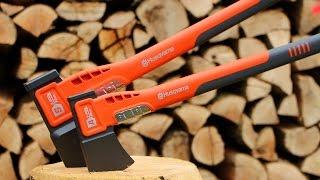 getlinkyoutube.com-Einfach leichter Holz spalten - Husqvarna Äxte im Praxistest