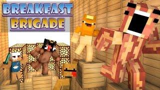 getlinkyoutube.com-Minecraft Breakfast Brigade : RUN FROM THE CEREAL KILLER!!