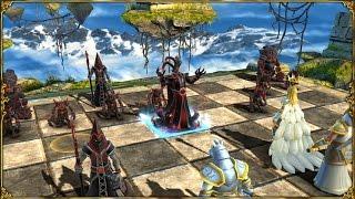 getlinkyoutube.com-Battle vs Chess Floating Island - Gameplay