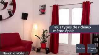 getlinkyoutube.com-ridorail / iB+ support de tringle à rideaux SANS PERCAGE pour FENETRE PVC