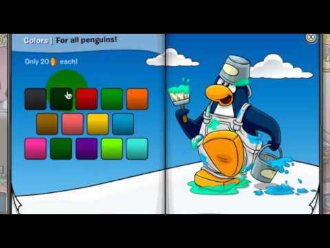 """Viendo el video """"Codigos De Ropa De Club Penguin Gratis Reutilizables"""