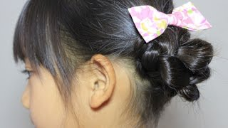 getlinkyoutube.com-かんたん 夏のまとめ髪2/ Simple Summer Up-do Hairstyle 2