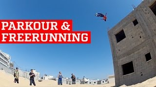 BEST PARKOUR & FREERUNNING | PEOPLE ARE AWESOME width=