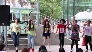 getlinkyoutube.com-「SAY!!!!」を歌うLittle Glee Monster(リトグリ)@渋谷ズンチャカ!