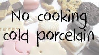 getlinkyoutube.com-No cooking Cold Porcelain tutorial