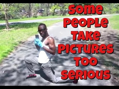 Some People Take Pictures Too Serious (Skit)