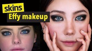 스킨스 에피 (카야 스코델라리오)메이크업 Skins Effy makeup l 이사배(Risabae Makeup)