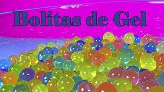 getlinkyoutube.com-Bolitas de gel de colores | Bolitas como las de Orbeez
