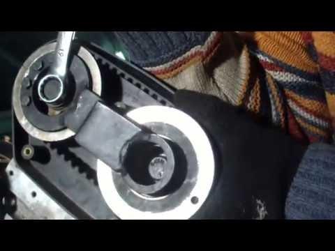 Где находится ремень кондиционера в Rover 25