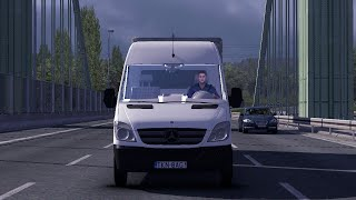 getlinkyoutube.com-Euro Truck Simulator 2 - Mercedes Benz Sprinter V2 5