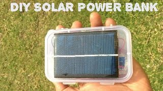 getlinkyoutube.com-HOW  TO MAKE A SOLAR POWER BANK FROM USED LAPTOP BATTERY