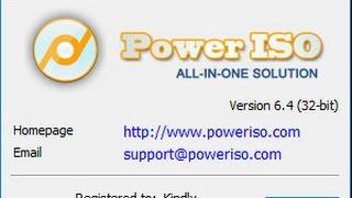 getlinkyoutube.com-شرح برنامج باور ايزو    PowerISO v6 4 Full 2