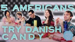 getlinkyoutube.com-5 Americans Try Scandinavian Candy | Taste Test