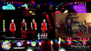 getlinkyoutube.com-Just Dance 2014 Xbox One #thatPower 3 year old BELLA