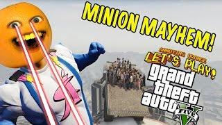 getlinkyoutube.com-Annoying Orange Plays - GTA Minion Mayhem!