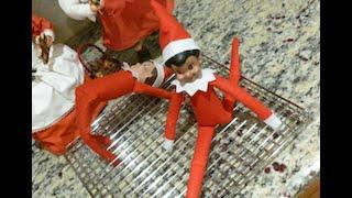 getlinkyoutube.com-Elf on the Shelf caught doing acrobats