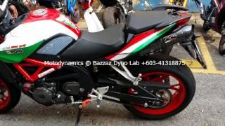 getlinkyoutube.com-Benelli TNT 600 Exhaust Sound - Motodynamics Technology Malaysia