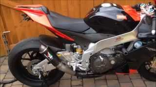 getlinkyoutube.com-Aprilia RSV4 Factory APRC - standard Exhaust and Austin Racing GP2