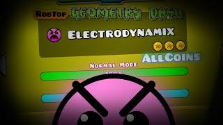 getlinkyoutube.com-Level 15.!! Geometry Dash [2.0] Electrodinamix All Coins