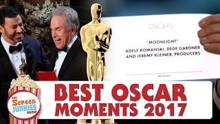 getlinkyoutube.com-Oscars 2017 Review: Academy Awards Awards – Best Picture Chaos, Moonlight Upsets La La Land!