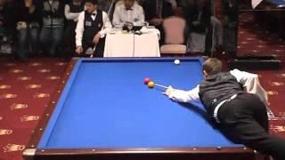 getlinkyoutube.com-Torbjorn Blomdahl - Murat Naci Coklu - World Cup 3 cushion billiard