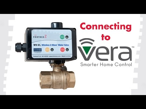 How to Connect Devices to Vera: FortrezZ Wireless Water Valve