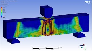 getlinkyoutube.com-ANSYS Reinforced Concrete Beam (RC BEAM) - Explicit Dynamics
