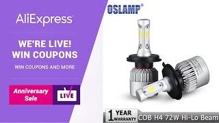 AliExpress LIVE - OSLAMP EN PLAYBACK