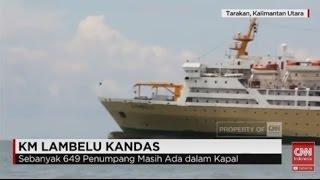 getlinkyoutube.com-KM Lambelu Mengangkut Ribuan Orang Kandas di Perairan Tarakan