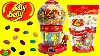 getlinkyoutube.com-Jelly Belly Bean Machine LEARN Colors and Sorting with Jelly Beans