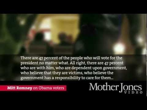 SECRET VIDEO: Mitt Romney on 47% of Americans