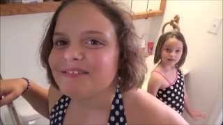 getlinkyoutube.com-Real Fish In The Bathtub! How Did They Get There? Toy Freaks Bluegill Fishing
