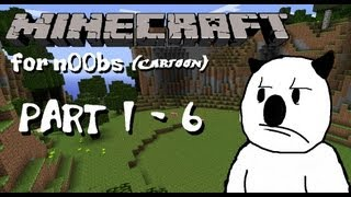 getlinkyoutube.com-Minecraft for noobs (Cartoon) - Part 1 - 6