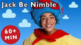 getlinkyoutube.com-Jack Be Nimble and More | Nursery Rhymes from Mother Goose Club!