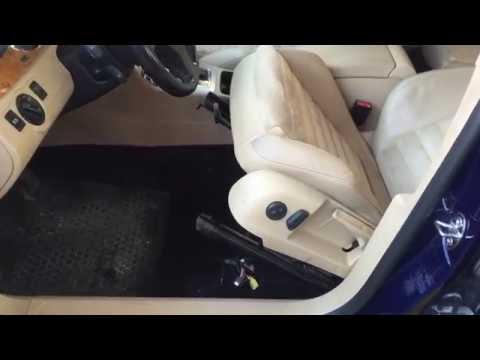 Где находятся разъемы подушек безопасности у Ситроен C6