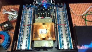 ร้อยซาวด์ เพาเวอร์แอมป์- Power Amp 2400W ชุดที่2 รุ่น S2400