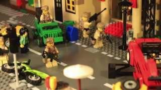 getlinkyoutube.com-Лего Зомби Апокалипсис мультфильм/ Lego Zombie city attack/ Приключения Кондора 5 бонусная серия