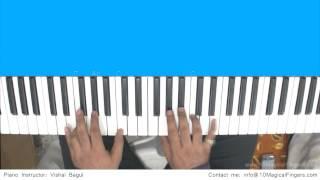 getlinkyoutube.com-Tum Hi Ho (Aashique 2) Piano Tutorial by Vishal Bagul | Melody | Chords | Arpeggios