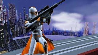 getlinkyoutube.com-Star Wars Battlefront 2 Mods - Coruscant High Fight