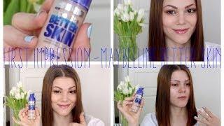 getlinkyoutube.com-First Impression | Maybelline Superstay Better Skin Foundation