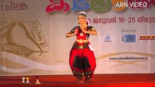 getlinkyoutube.com-Bharatanatyam (HS no 356) Kerala School Kalolsavam 2016