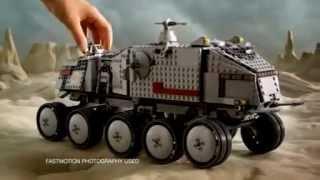 getlinkyoutube.com-2010 LEGO STAR WARS - Clone Turbo Tank