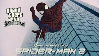 getlinkyoutube.com-Skin The Amazing Spiderman 2 2014 para GTA San Andreas por Herny9997