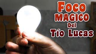 getlinkyoutube.com-Como hacer el Foco mágico del tío Lucas │ Imitación Tesla