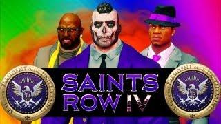 getlinkyoutube.com-Saints Row 4 FUN - Learning to Play, Super Powers, Merica Gun, Naked Drunk (SR4 Funny Moments)